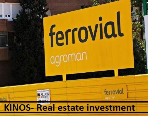 Large a ferrovial agroman 770 ee in